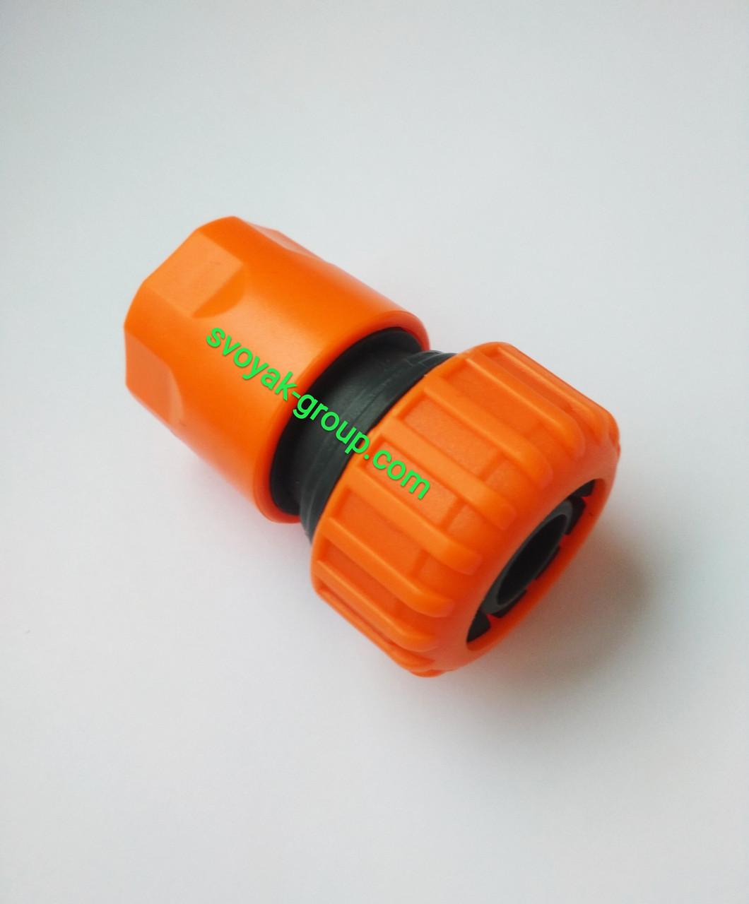 "Коннектор для шлангов 1/2"" - 5/8"" дюйма ""Presto Ps"" Primo - 5809 (orange, green)."