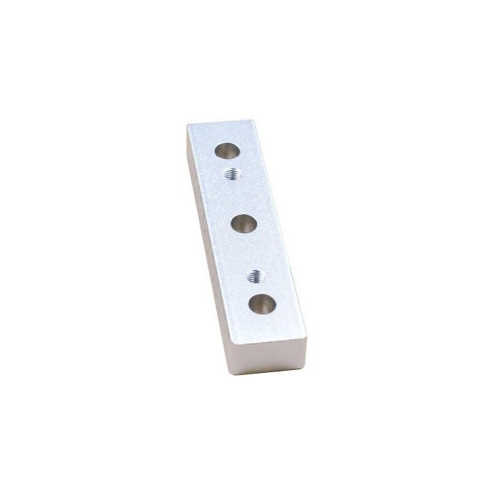 Блок розпірний для портальних пластин, сірий