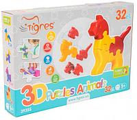 3D пазлы и головоломки.Пазлы играть.Пазлы для малышей.Пластиковые пазлы.