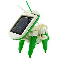 Конструктор-робот SUNROZ Robot Kits на сонячній батареї 6 в 1  (SUN3339)