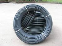 Труба полиэтиленовая водопроводная d25 с синей полосой