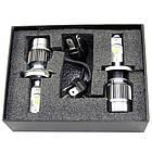 LED лампы для автомобиля Xenon RS H4 Ксенон набор 2 шт автосвет, фото 2