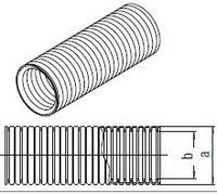 Гофротруба захисна для РЕ-труб 32 (бухта 25 м)
