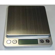Весы настольные электронные 6295, максимальный вес 2 кг, шаг 0,1 г, фото 2
