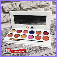 Набор теней KYLIE The Royal Peach Palette 12 цветов