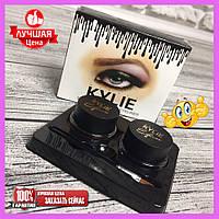 Гель-краска для бровей Kylie double color gel eyeliner