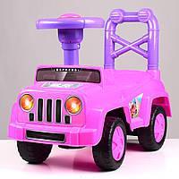 Детская каталка-толокар Q10-8 розовая Гарантия качества Быстрая доставка