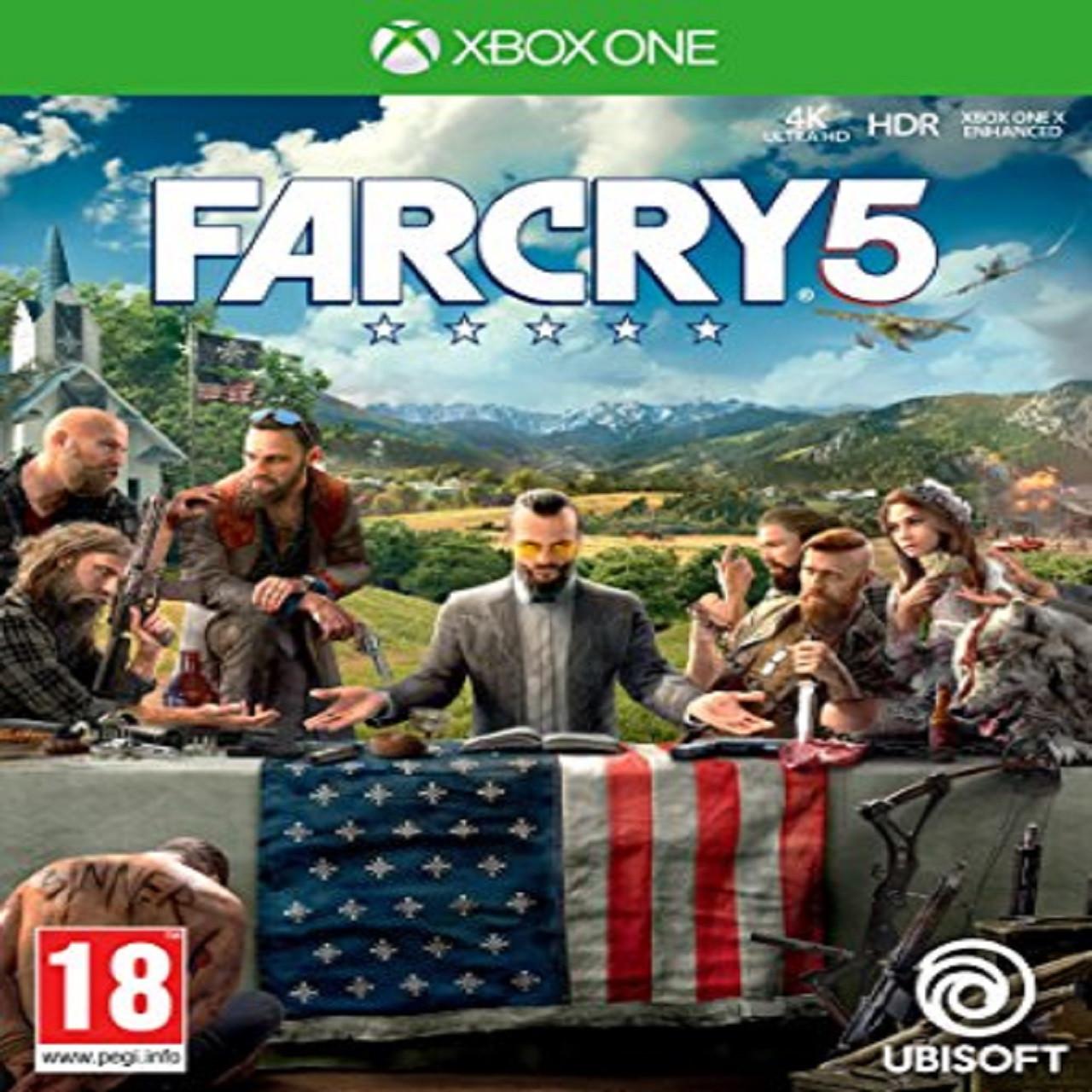 Far Cry 5 (російська версія) XBOX ONE (Б/В)