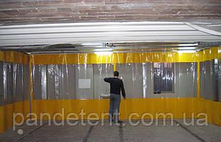 Штора для автомойки из водостойкой ПВХ ткани (Испания)