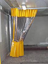 Водо-мороустойчивая штора для автомойки из ПВХ ткани (Испания), фото 2