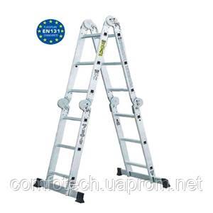 Шарнирная лестница Werk LC2416 (4х4) - ComfoTech в Киеве