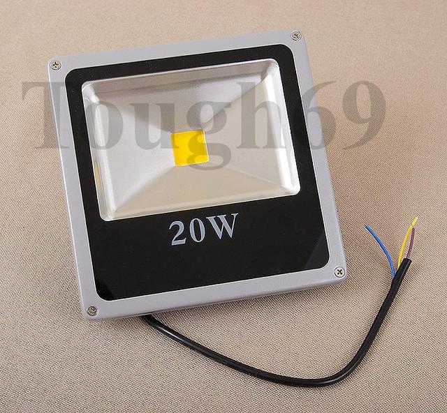 LED Прожектор светодиодный 20Вт 220В IP65 белый