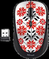 Мышь компьютерная Trust Yvi Wireless Mouse Ukrainian style