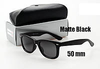 Солнцезащитные очки Ray-Ban Wayfarer 2140 черные, фото 1