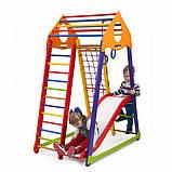 Детский комплекс для малышей BambinoWood Color Plus 1, фото 3