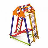 Детский комплекс для малышей BambinoWood Color Plus 1, фото 4