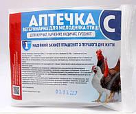 Вет Аптечка С (байтрил-1,байкокс-1, Нутрил Se 3г) На 50гол, Укрветбиофарм