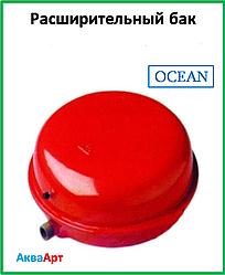 """Pасширительный бак плоский """"OCEAN"""" закрытого типа для систем отопления 6 литров"""