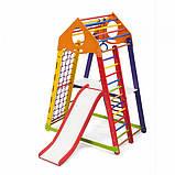 Детские домашние спортивные комплексы BambinoWood Color Plus 2, фото 4