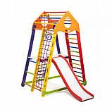 Детские домашние спортивные комплексы BambinoWood Color Plus 2, фото 5
