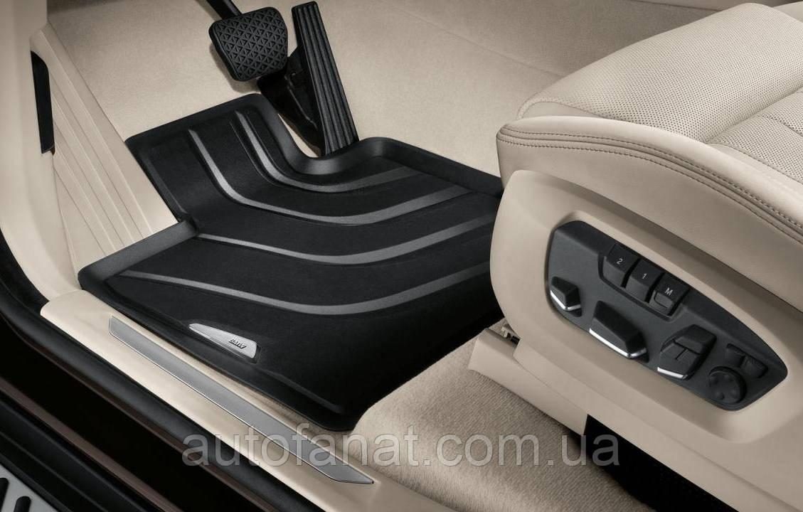 Оригинальные передние коврики салона BMW X3 (F25)