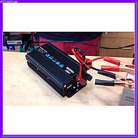 Преобразователь напряжения инвертор 12-220V UKC AC/DC 1000W SSK