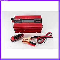 Преобразователь тока инвертор AC/DC UKC 500W KC-500D с LCD дисплеем с 12 вольт на 220 вольт, фото 1