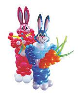 Заяц, фигура из воздушных шариков