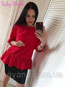 Женский стильный костюм в расцветках, р-р 50-56. ИК-10-1-0219