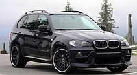 Пороги (подножки боковые) BMW X5 E70 (2007-...)