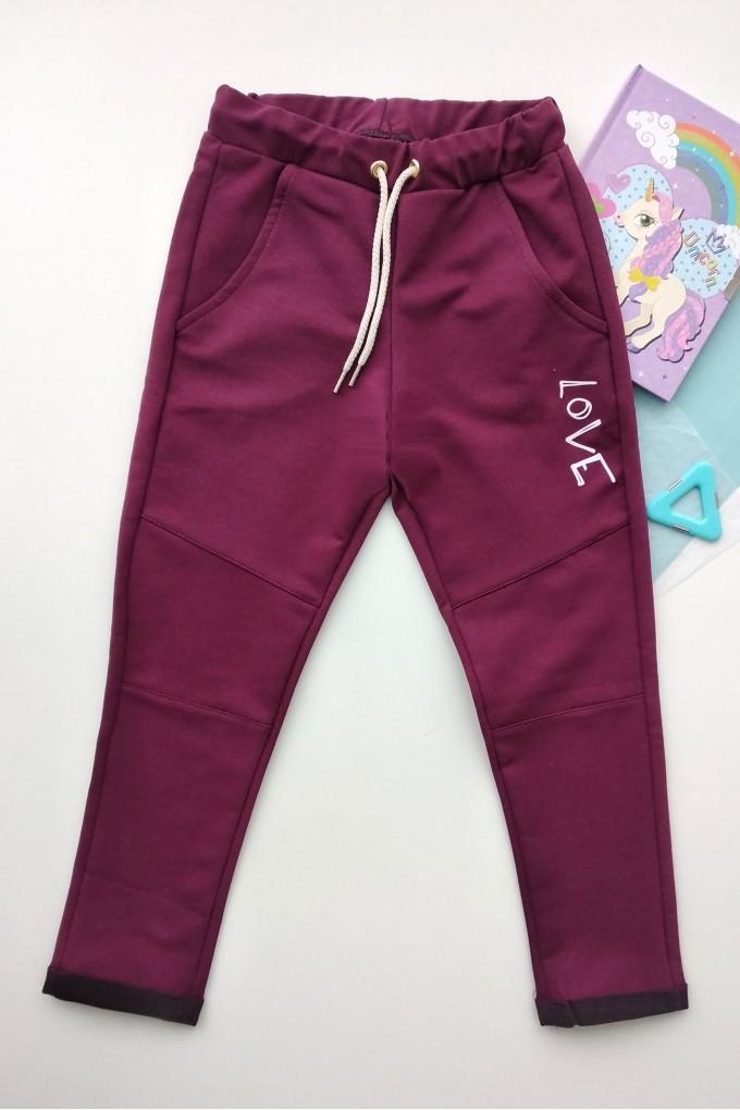 Детские штаны на девочку 110-128рр Код до479