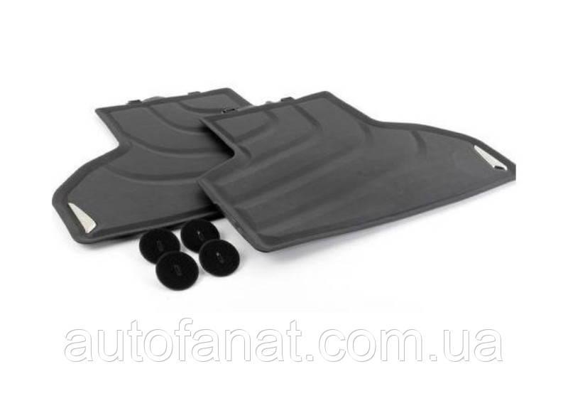 Коврики BMW X3 (F25), X4 (F26) задние оригинальные в салон резиновые (51472458443)