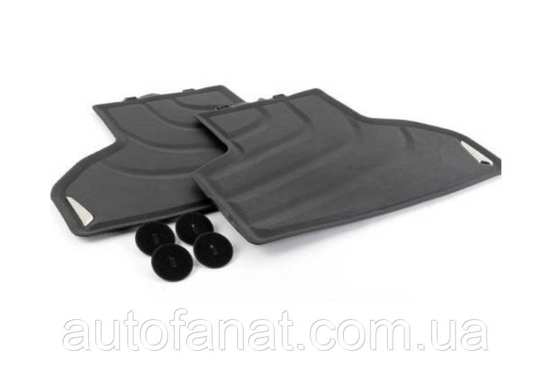 Оригинальные задние коврики салона BMW X3 (F25)