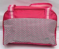 Женская спортивная сумка adidas розовая