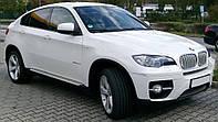 Пороги (подножки боковые) BMW X6 E71/E72 (2008-...)