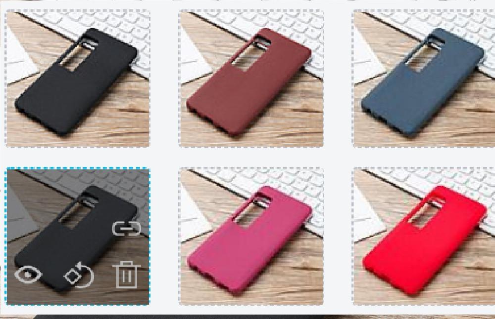 Матовый силиконовый  Soft-touch чехол для Meizu Pro 7 Стекло в наличии /