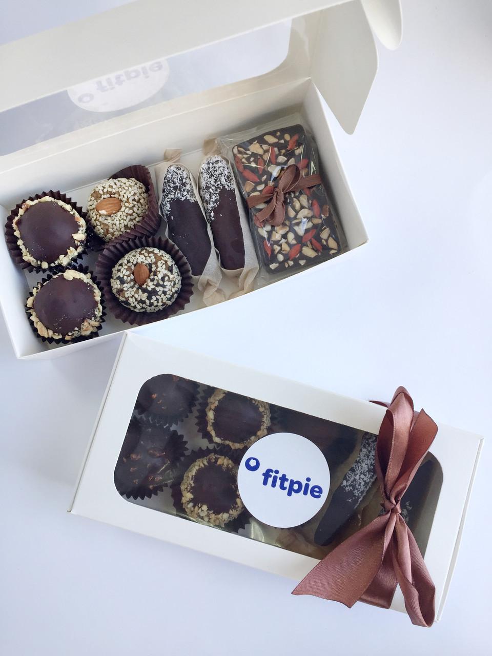 Ассорти натуральных конфет из 8 шт. без сахара
