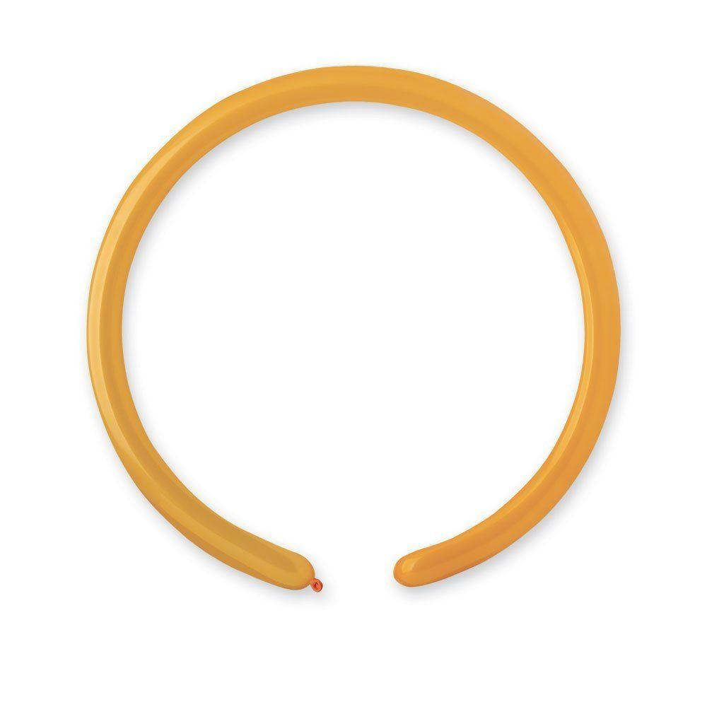 Шары ШДМ (260-2/04 пастель оранжевый) D4