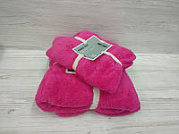 Комплект рушників мікрофібра (особа+баня)