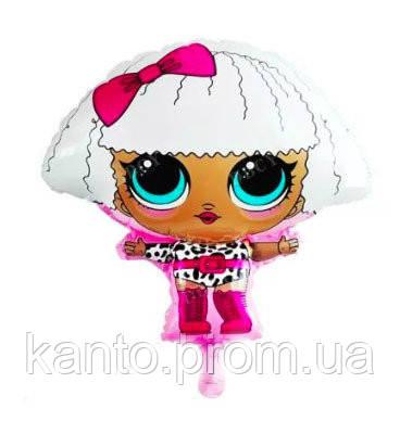Шар фольгированный Куклы Лол 60х52 см