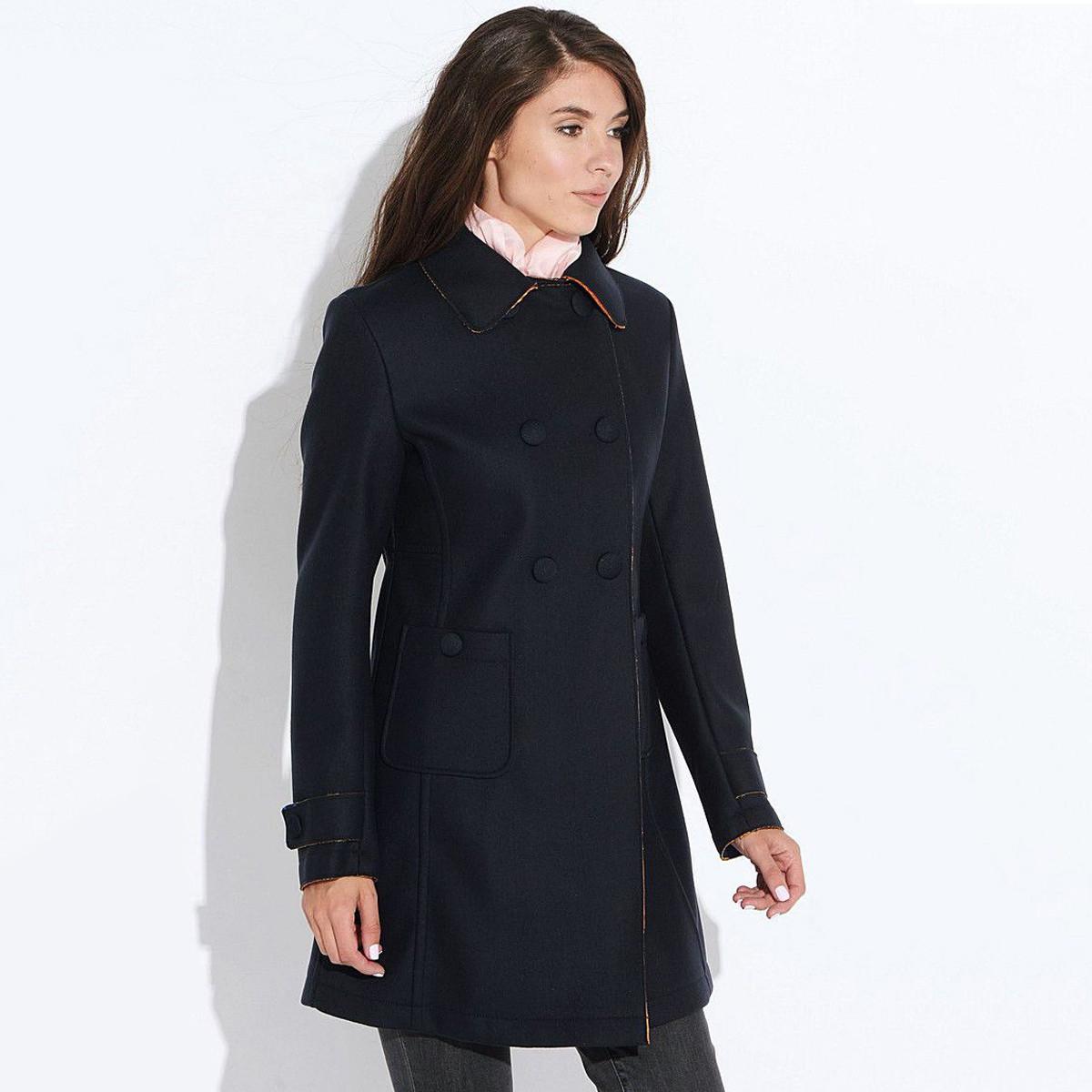 Пальто женское Geox W5415D DK NAVY