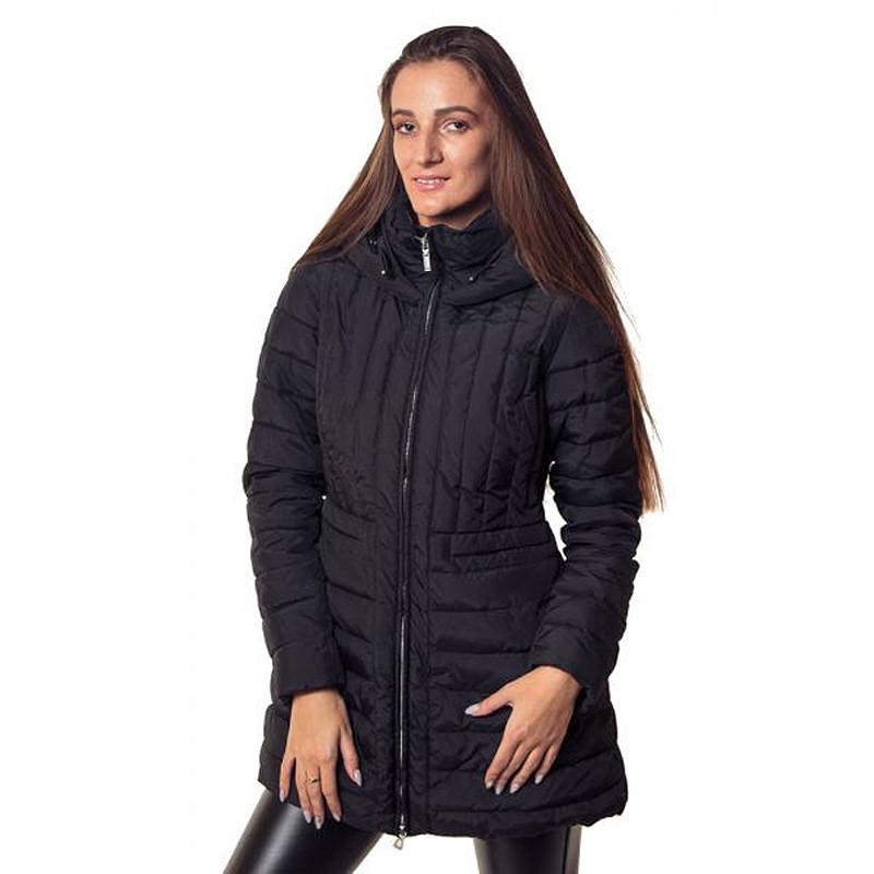 Пальто женское Geox W6428C BLACK