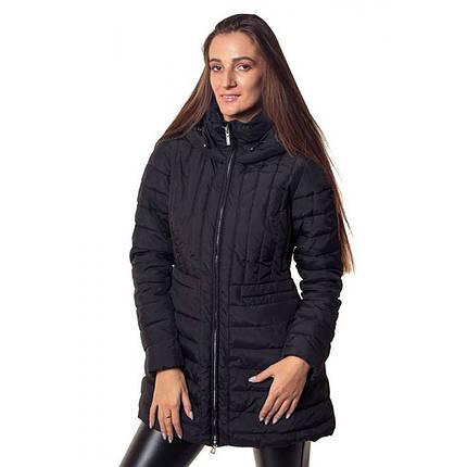 Пальто женское Geox W6428C BLACK, фото 2