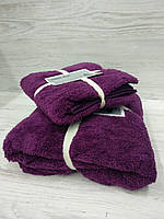 Комплект полотенец (лицо+баня)
