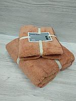 Полотенца в подарочной упаковке (лицо+баня)
