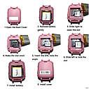 Детские часы-телефон S-9. Прослушка, сенсорный экран, камера, фонарик, мониторинг местоположение. Голубые, фото 6