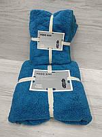 Полотенца в комплекте (лицо+баня)