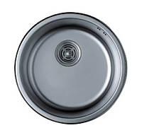 Мойка кухонная Haiba HB 440-satin 0.8 mm