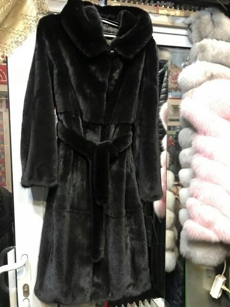 Норковая шуба  халат