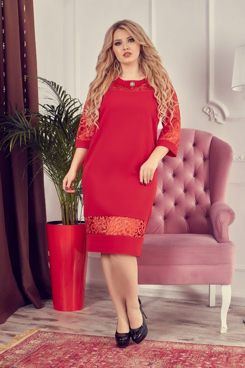 Сукня арт.150 червоне